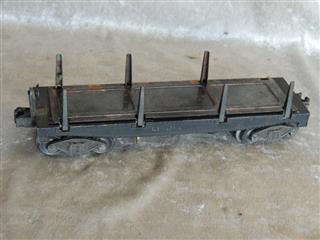 Lionel New B O Log Dump Car